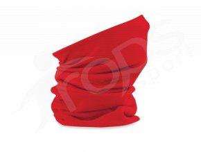 ochranny nakrcnik fleece beechfield b920 cerveny