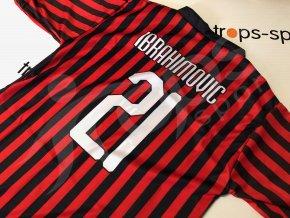 fotbalovy dres ac milan zlatan ibrahimovic