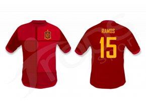 fotbalovy dres spanelsko top