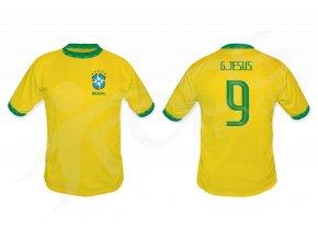 fotbalovy dres brazilie top