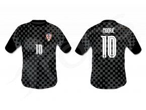 fotbalovy dres chorvatsko top cerny