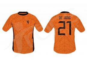 fotbalovy dres nizozemsko top