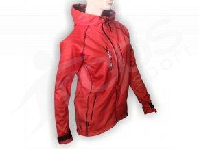 Softshellová bunda IMAGE dámská - červená