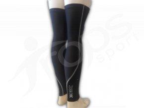 Návleky na nohy TERMO - černé