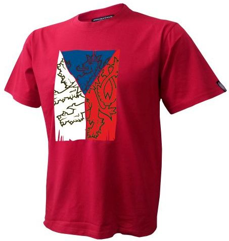 Atletico Tričko CZECH VLAJKA - červené Velikost: XS, Lze dotisknout: Jméno a číslo na záda, čísla na rukávy