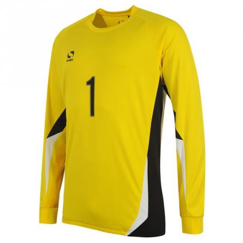 Fotbalový dětský brankářský dres Sondico, žlutý Velikost: 3 roky, Lze dotisknout: Jméno na dres