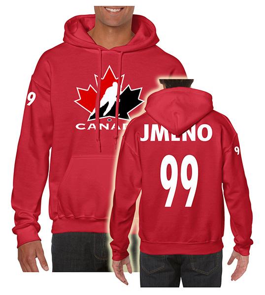 Trops-Sport Mikina Kanada Velikost: S, Lze dotisknout: Jméno a číslo na záda, čísla na rukávy