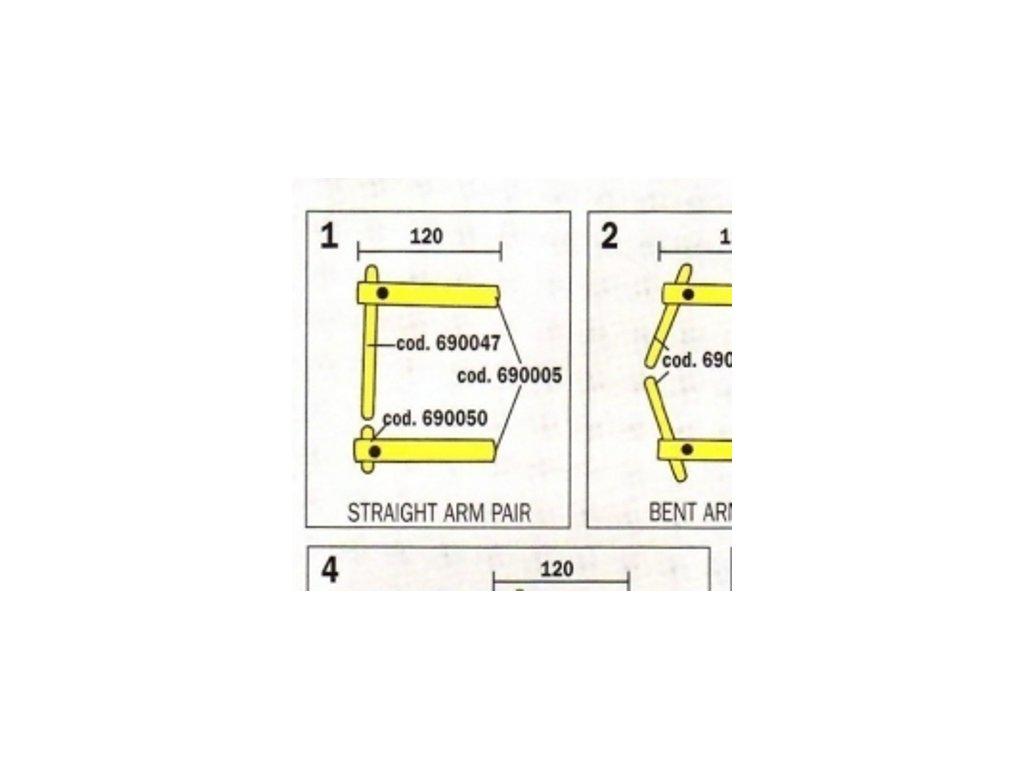 Čeľuste 120 mm pre Digital Modular 803151 Telwin