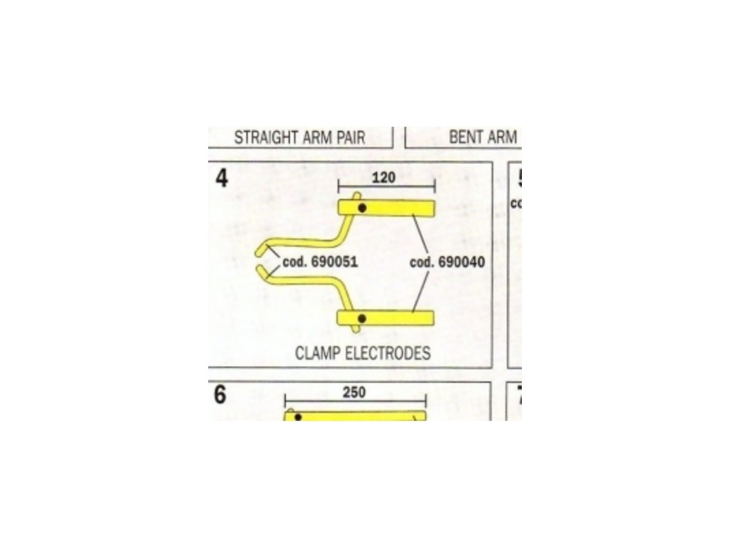 Čeľuste 120 mm pre Digital Modular 803155 Telwin