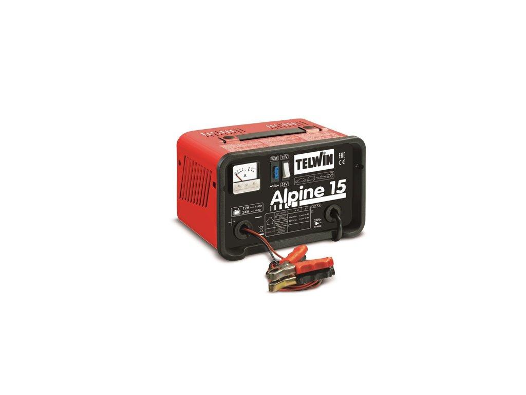 Nabíjačka autobatérií Alpine 15 Telwin