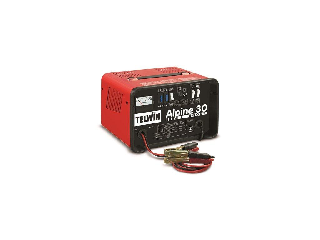 Nabíjačka autobatérií Alpine 30 Boost Telwin