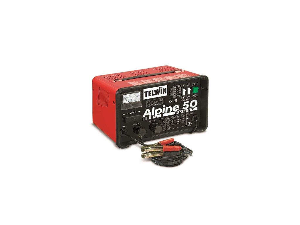 Nabíjačka autobatérií Alpine 50 Boost Telwin