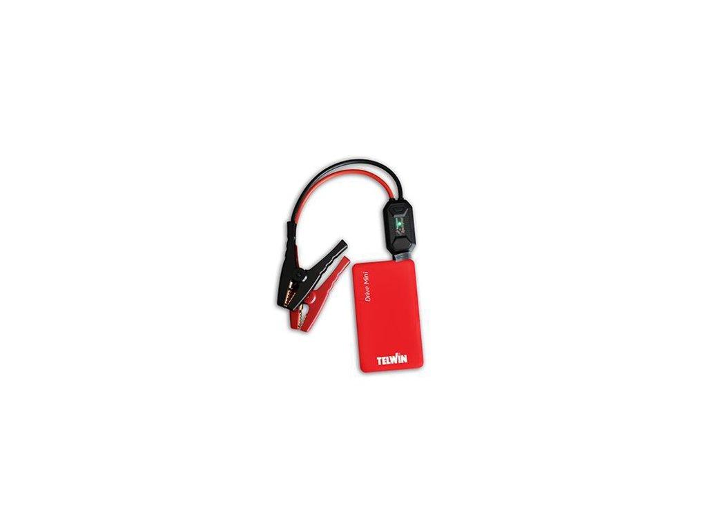 Štartovací zdroj - Powerbanka Drive Mini + smart cables 12 V Telwin