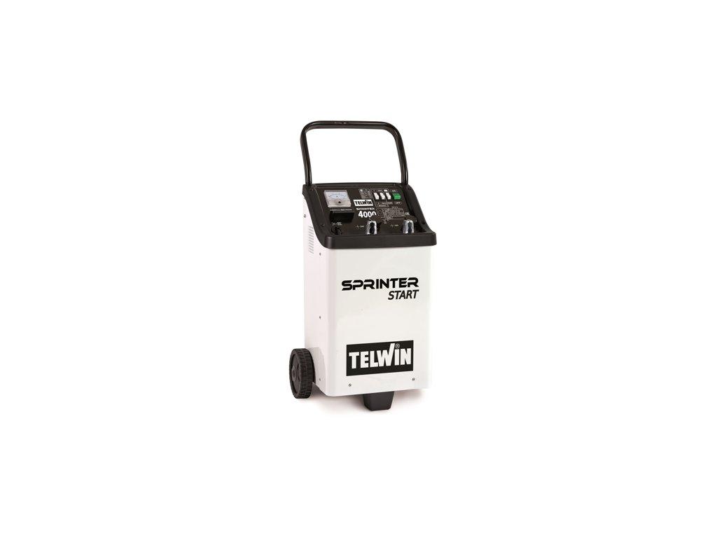 Štartovací vozík s nabíjačkou Sprinter 4000 Start Telwin