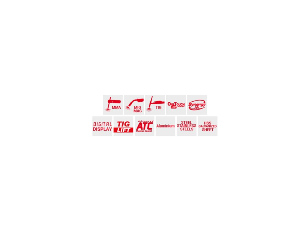 Zváračka CO2 - Zvárací invertor CO2 (MIG-MAG) ELECTROMIG 220 Synergic Telwin