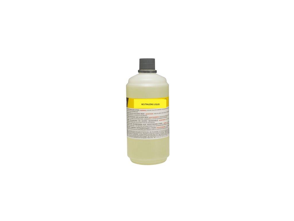 Neutralizačná kvapalina čističa nerezových zvarov 1 lt
