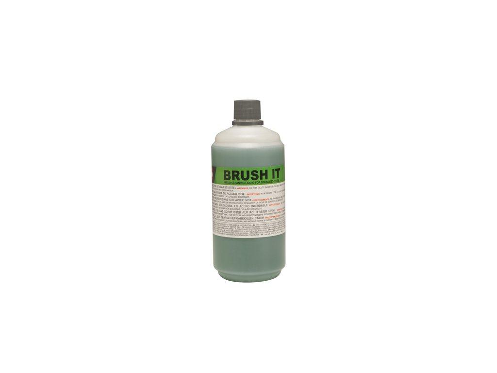 Čistiaca kvapalina pre čistenie nerezových zvarov malých plôch Brush IT 1 lt Telwin