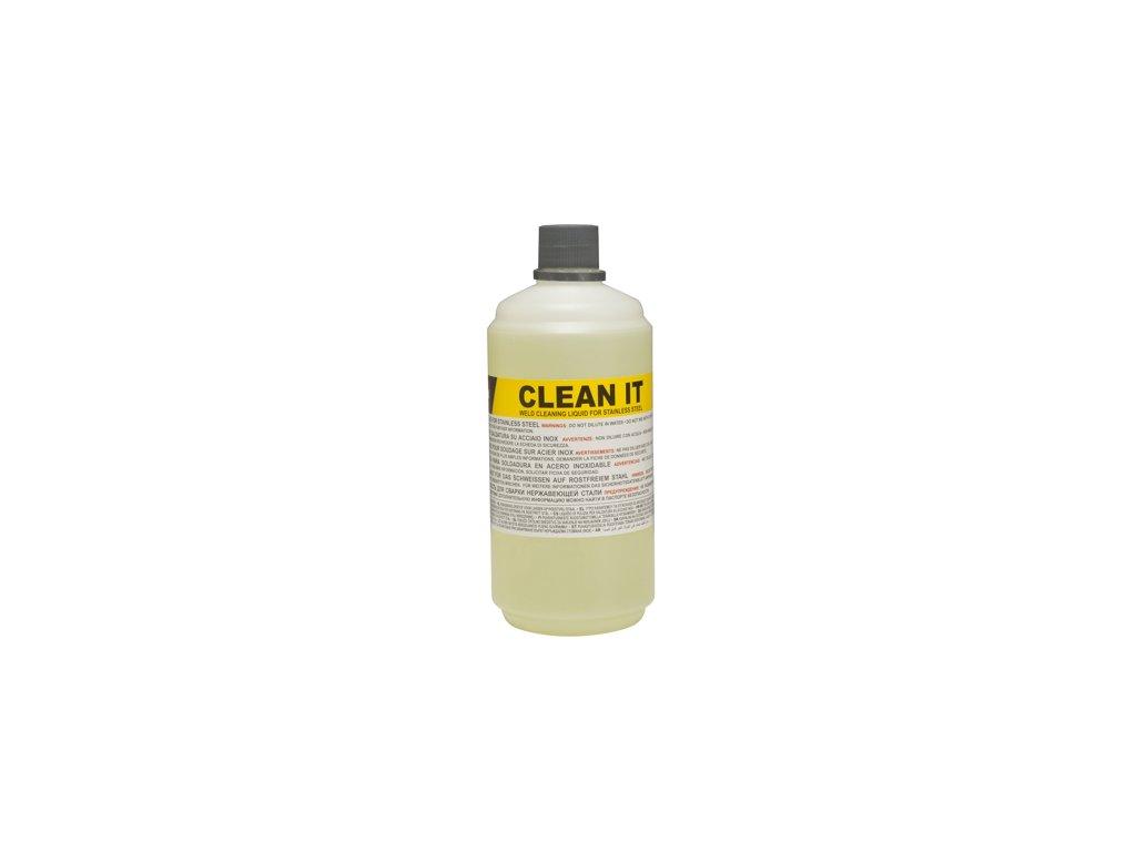 Čistiaca kvapalina pre plošné čistenie nerezových zvarov Clean IT 1 lt