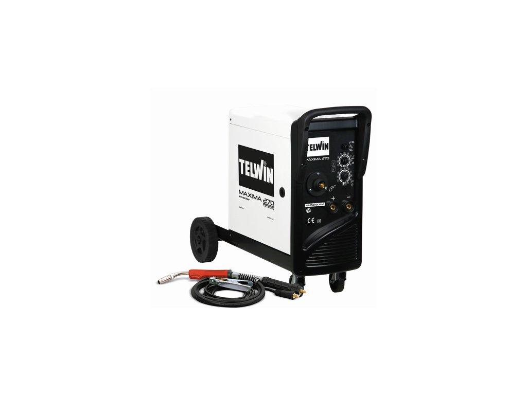 Zváračka CO2 - Zvárací invertor CO2 (MIG-MAG) / MMA / TIG Maxima 270 Telwin