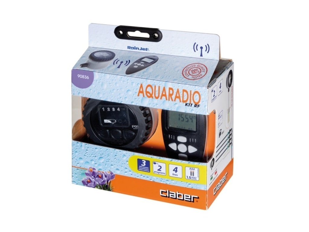 CLABER AQUA RADIO RF KIT - Claber 90836