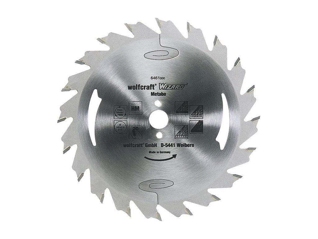 Wolfcraft pílový kotúč - pozdĺžne rezy ø190x16 Z24 6475000