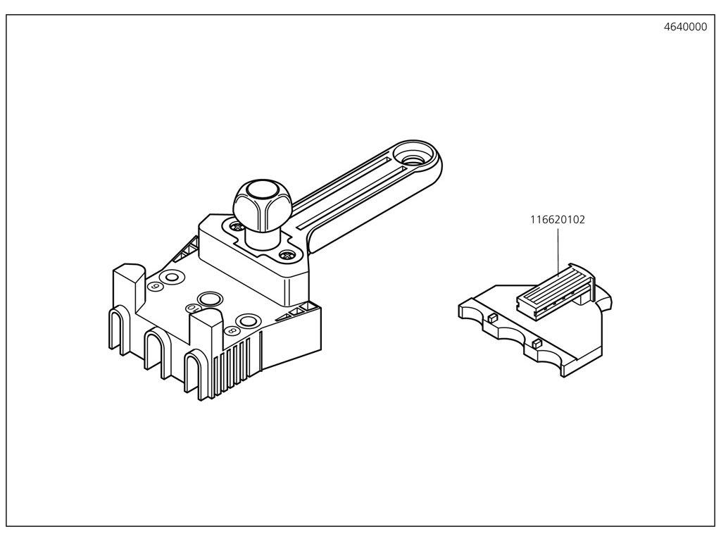 Náhradný diel Návod k obsluze 4640(116300246) pro Mistrovská kolíkovačka D6 – 8 – 10 Wolfcraft 4640000