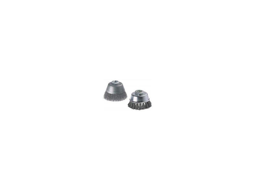 Wolfcraft drôtená kefa hrniec 60 mm M14 2107000
