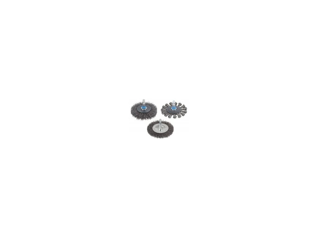 Wolfcraft drôtená kefa kotúč 100x20 mm 2103000