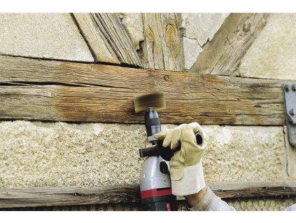 Wolfcraft kefa na štruktúrovanie dreva, pr. 80 mm 2265000