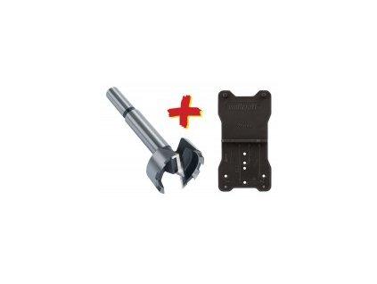 Wolfcraft Forstner-vrták + pomôcka L = 90mm 35mm 8728000