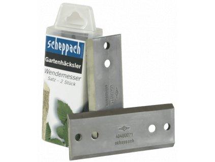 Scheppach nôž (sada 2ks)