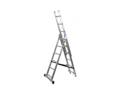 Rebrík Strend Pro DP 3x10, Alu, EN 131 max. 5.83 m