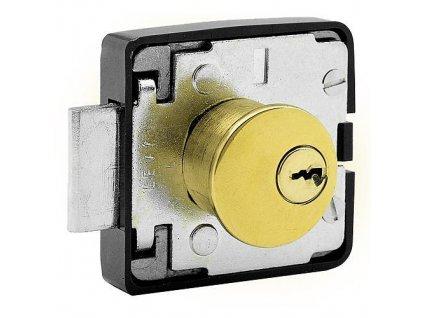 Zámok FAB 462, nábytkový, 2 kľúče, Ms