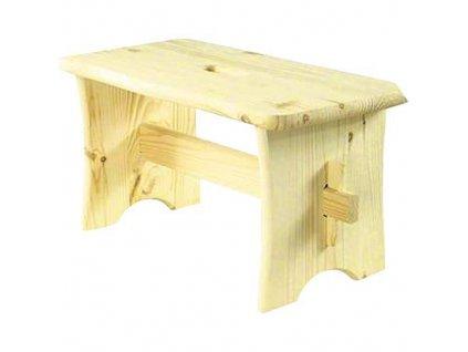 Stolička drevená 39x20x20 cm