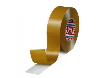Páska tesa® PRO tesafix®, obojstranne lepiaca, fóliová, transparent, 30 mm, L-50 m