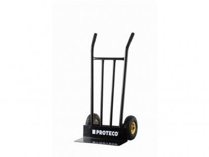 vozík ručný manipulačný (rudla) s plnými kolesami, nosnosť 300 kg