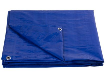 Plachta Tarpaulin Standard 10x12, zakrývacia, 80 g/m2, modrá