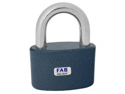 Zámok FAB 30H/52 mm, visiaci, 3 kľúče, Hardened