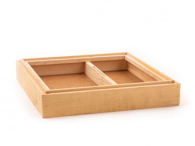 Krmítko dřevěné 11r 39x24