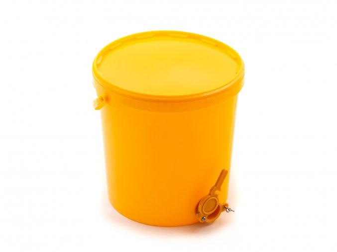 Nádoba na stáčení medu 25kg plast