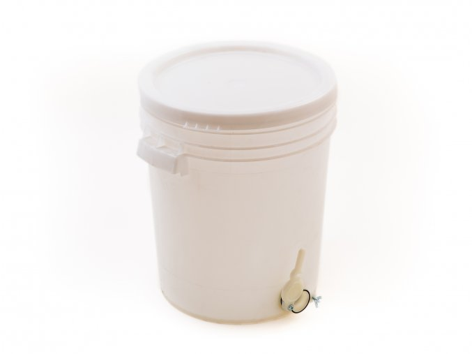 Nádoba na stáčení medu 40kg zesílená plast