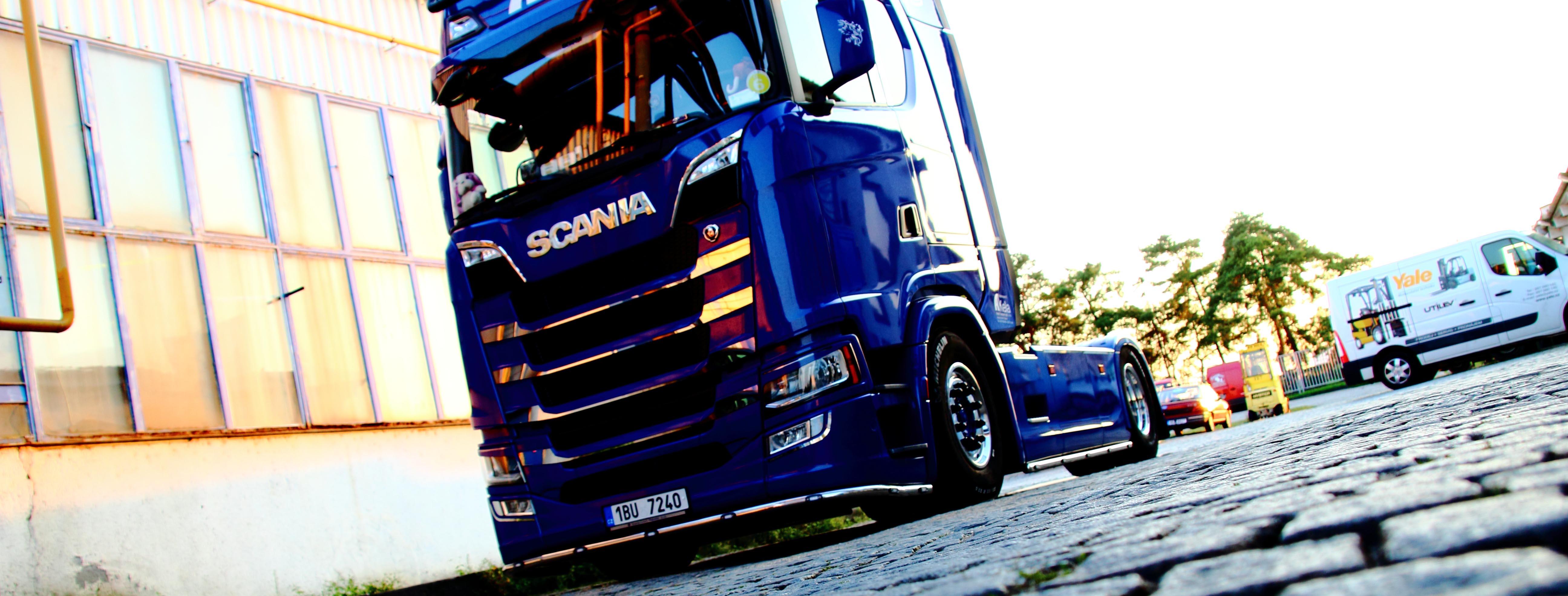 Scania next generation chrome parts