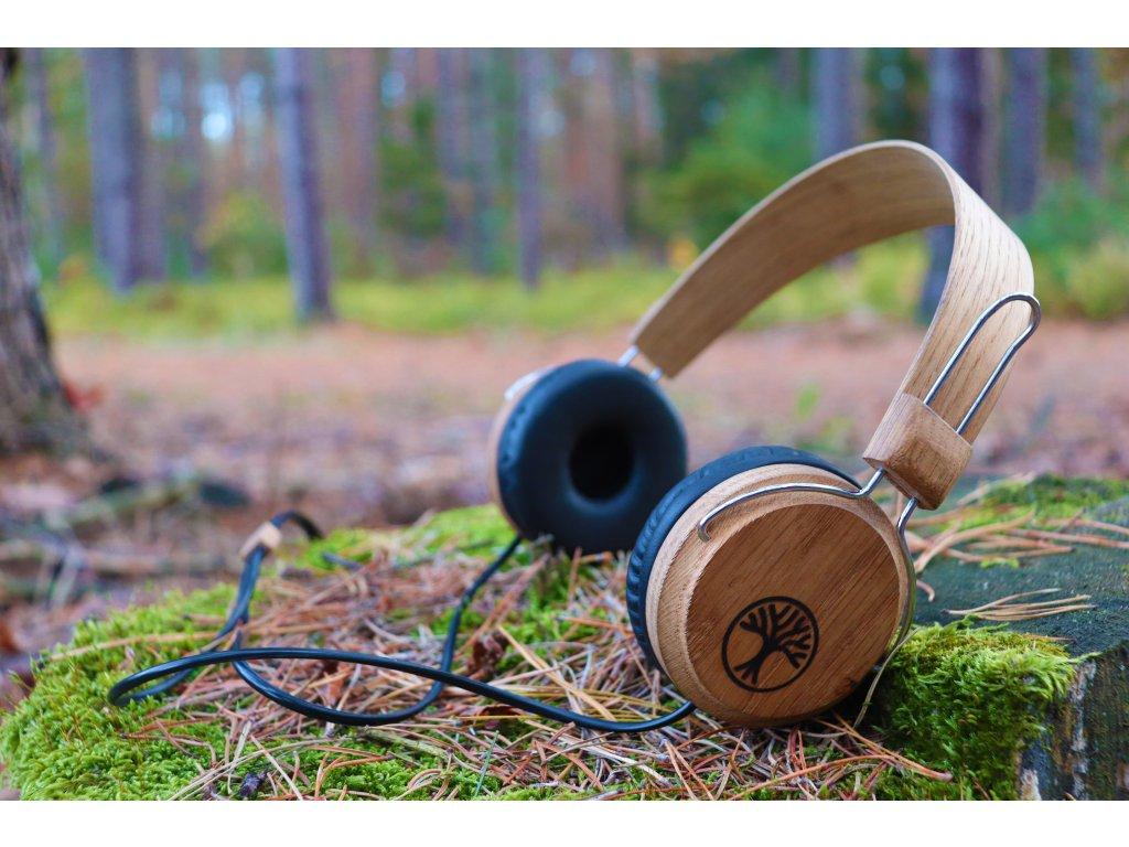 Dřevěná slucháta