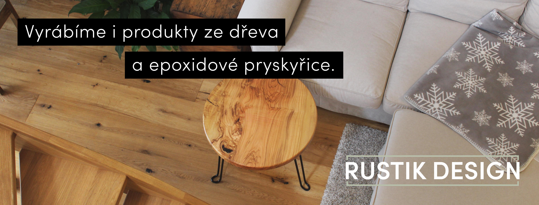 Vyrábíme stoly ze dřeva a pryskyřice | RUSTIK DESIGN