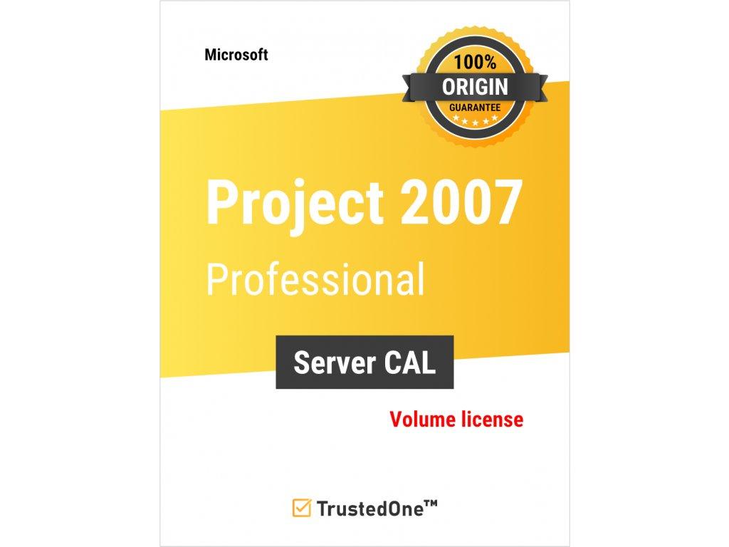 project 2007 pro