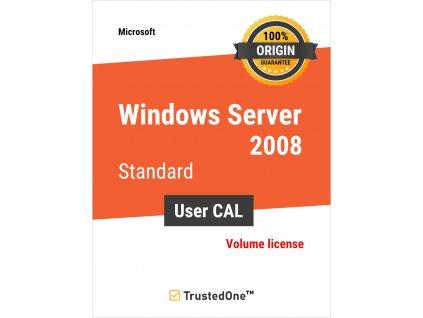 win server 2008 user cal