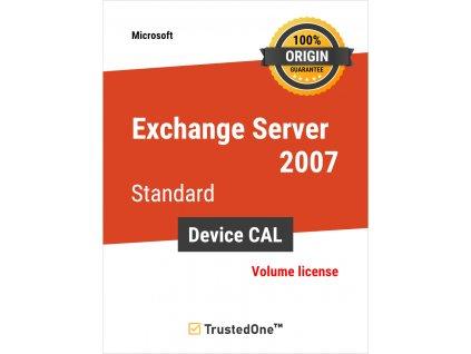 exchange server 2007 standard device cal
