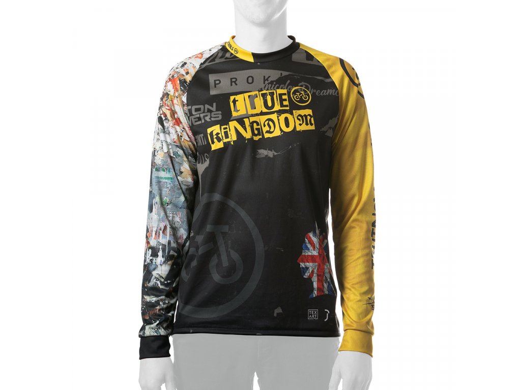 Enduro jersey True Kingdom MAN long 01