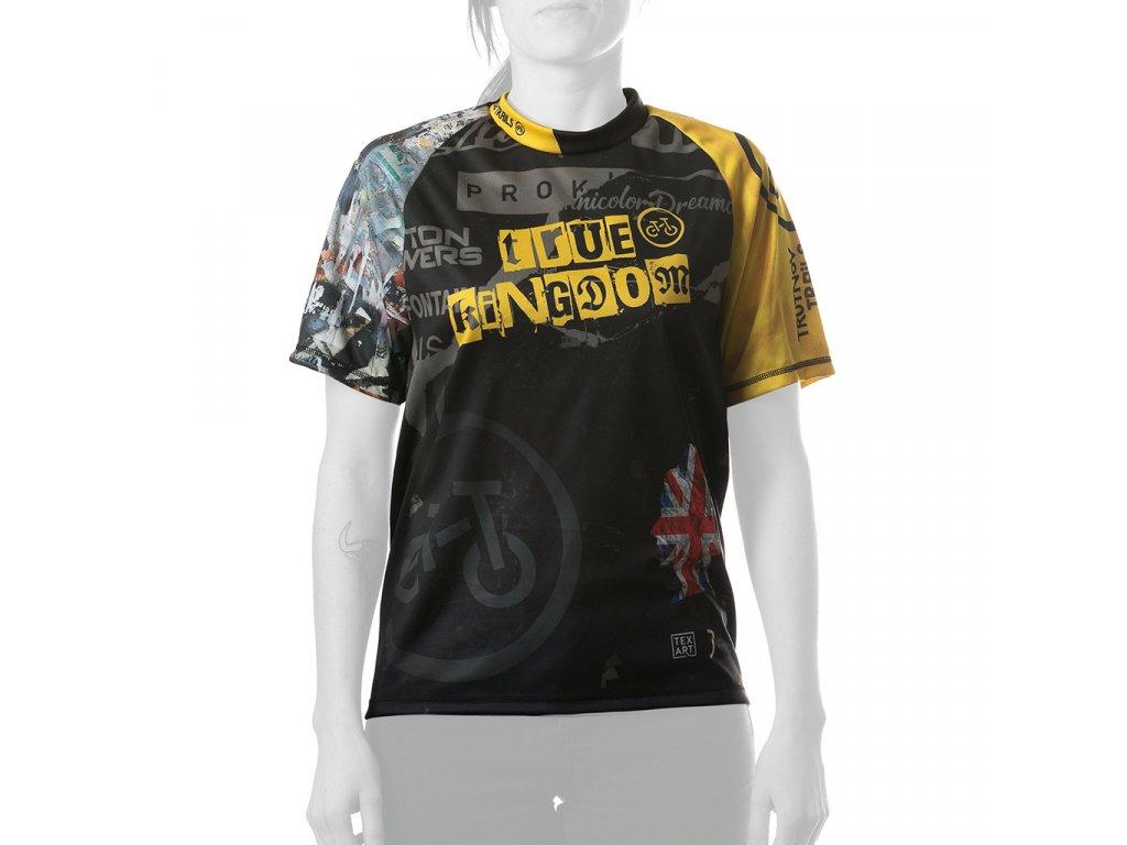 Enduro jersey True Kingdom WMN short 01