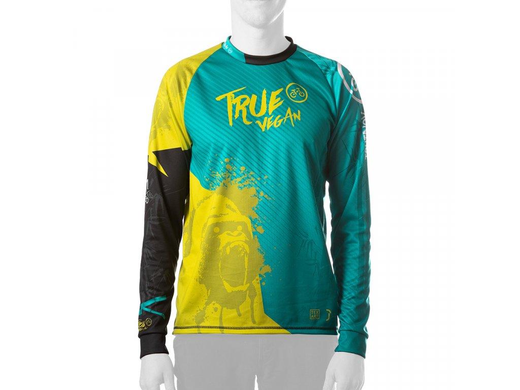 Enduro jersey True Vegan MAN long 01